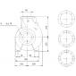 NB 65-250/251 A-F-A-E-BAQE (3 x phase) Αντλίες