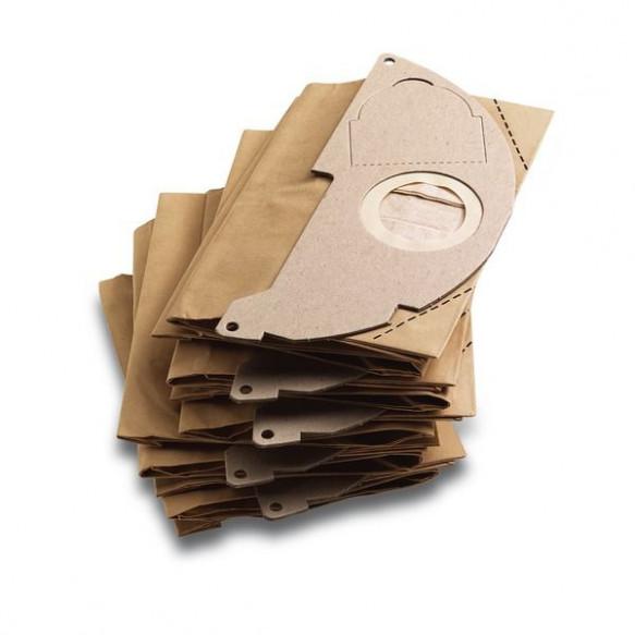 Χάρτινες σακούλες φίλτρου για WD 2  (5 τμχ.) Για Σκούπες Αναρρόφησης
