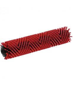 Βούρτσα κυλινδρική κόκκινη(400mm)
